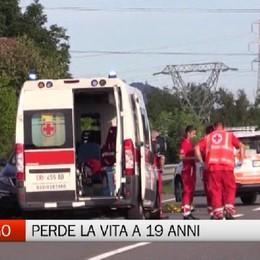 Incidente a Gorlago - Matteo, 19 anni, altra vittima della strada