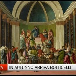 Carrara - In autunno arriva Botticelli