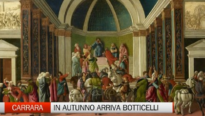 Carrara - In autunno arriva Botticelli