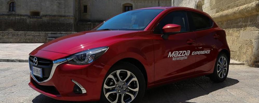 Mazda2 modello 2018 lancia la sfida nelle city car