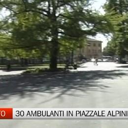 Mercato - Trenta ambulanti si spostano su piazzale Alpini