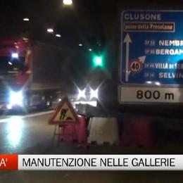 Qual è lo stato delle gallerie in provincia? Il punto nel servizio di Bergamo TV