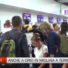 Sciopero Ryanair - Anche a Orio migliaia di passeggeri a terra