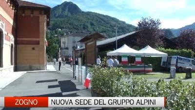 Zogno - La nuova casa del Gurppo Alpini