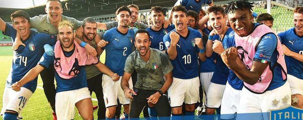 Impresa dei (ner)Azzurrini: finale europea Battuta la Francia: a segno Capone