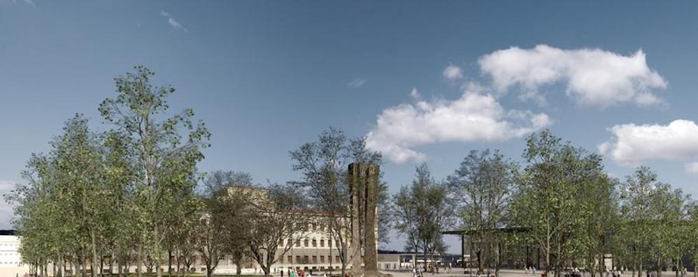 Piazzale Alpini, ecco come cambierà Su «L'Eco» due pagine sul progetto