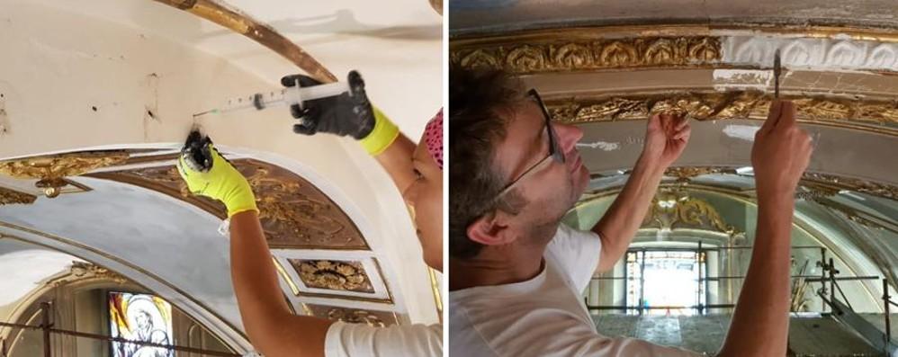 Via al restauro della chiesa di Barzana Sabato open day per l'inizio del cantiere