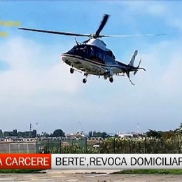 Inchiesta Carcere, revocati i domiciliari a Francesco Bertè