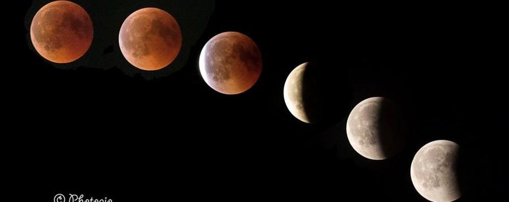 Lo spettacolo della storica eclissi Guarda le foto della luna rossa