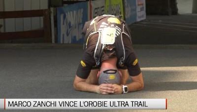 Orobie ultra trail, emozione per Marco Zanchi
