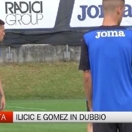 Sarajevo-Atalanta, Ilicic e Gomez restano in dubbio