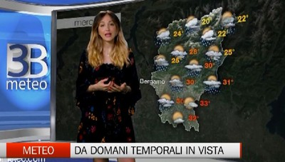 Meteo, da domani temporali in vista
