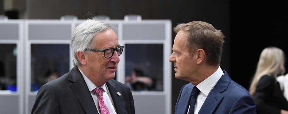 Juncker, delusione su migranti, a summit mancato accordo pieno