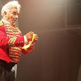 «Arcate d'Arte» celebra il mito del clown A luglio 5 spettacoli e ospite Colombaioni