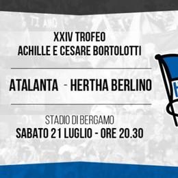Tutto deciso per il Trofeo Bortolotti Il 21 luglio arriva l'Hertha Berlino