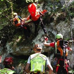 Manda foto al 112, escursionista ritrovata  «Scaricate l'app, geolocalizzati in un click»