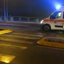 Cade in moto di notte  Grave 24enne a Rovetta