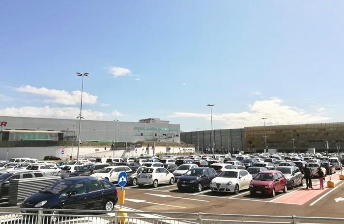 La nuova area parcheggio di Oriocenter