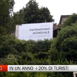 Effetto Unesco sul turismo: a Bergamo +20%