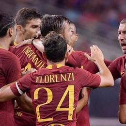 La Roma travolge il Barcellona - Video A segno l'ex atalantino Cristante