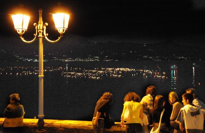 La festa dei lumini a Riva di Solto