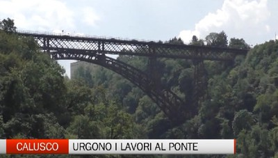 Calusco d'Adda, ponte San Michele tra lavori e patrimonio Unesco