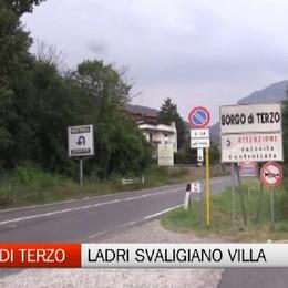 Borgo di Terzo, ladri all'opera: villa svaligiata