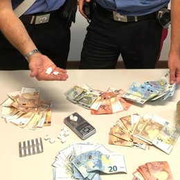 Dalmine, arrestato 32enne  Sequestrata cocaina e 1600 euro