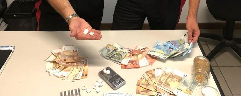 Dalmine, arrestato 32enne  Sequestrata cocaina e 1600 euro