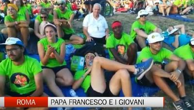 Il Papa incontra i giovani bergamaschi