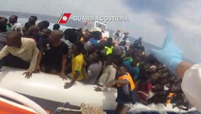 Migranti: Frontex, -83% arrivi in Italia a luglio