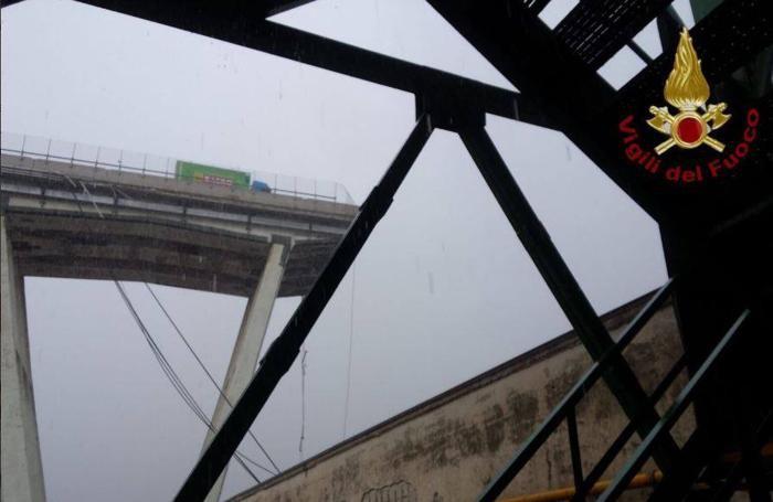 Il disastro di Genova nelle foto tratte da Fb