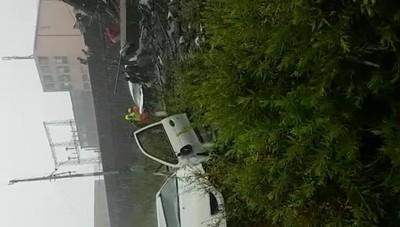 Genova, un  video dei soccorsi