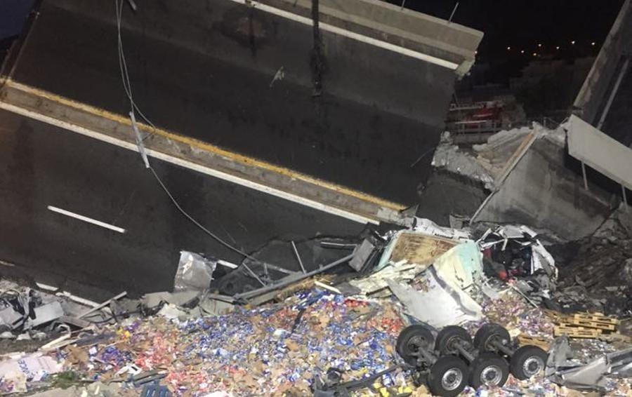 Tragedia di Genova: «Scena apocalittica» Soccorritori bergamaschi, foto e racconti