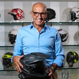Una galleria del vento per i suoi caschi Locatelli lancia Airoh Helmet negli Usa