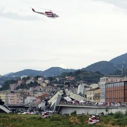 Crollo di Genova, i bergamaschi sul ponte «In colonna, urlavano di tornare indietro»