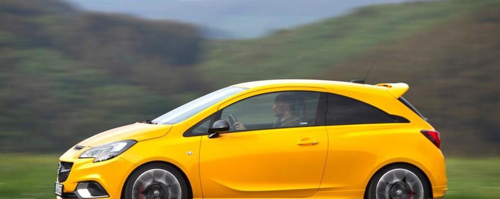 Opel Corsa GSi, la supercompatta