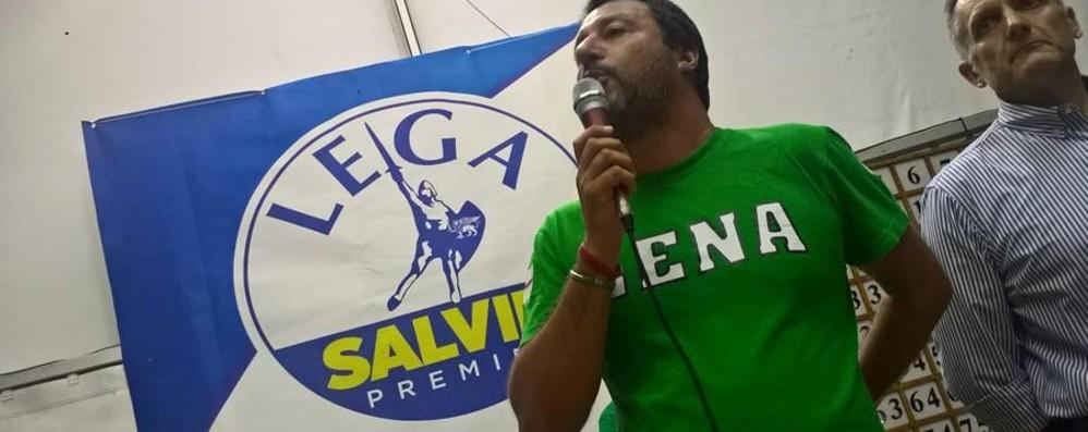 Salvini a Pontida parla di Genova «Avviata la revoca, ma prima i soldi»