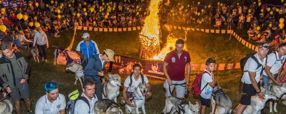 Selvino, si va a spasso con i lupi La camminata sul monte Purito