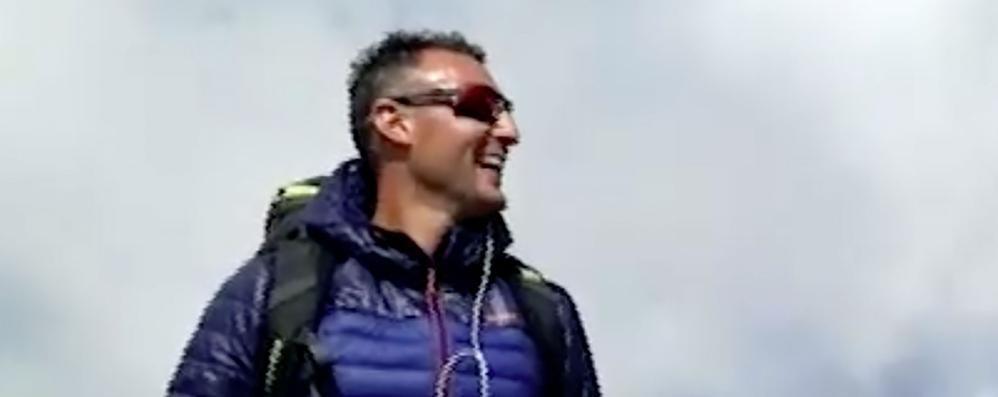 Andrea appassionato di montagna «Con te sono caduti i nostri cuori»
