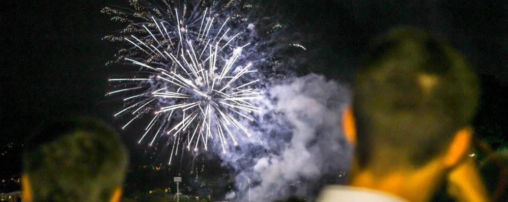 È la serata dei fuochi d'artificio Borgo S. Caterina, lo spettacolo alle 21
