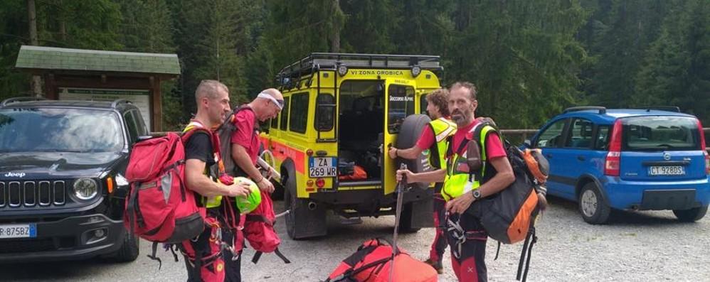 Escursionista ferita in Val di Scalve Elisoccorso, tre interventi in un'ora