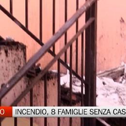 Incendio a Romano: il sindaco Nicoli