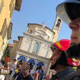 Vigili del fuoco,  preghiera per Genova  Emozione alla Messa in Santa Caterina