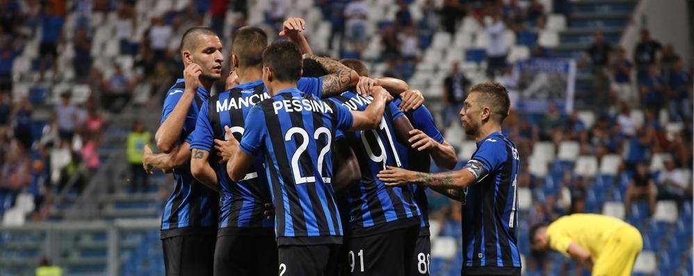 Atalanta - Frosinone: out Palomino Dubbi su Barrow o Zapata in attacco