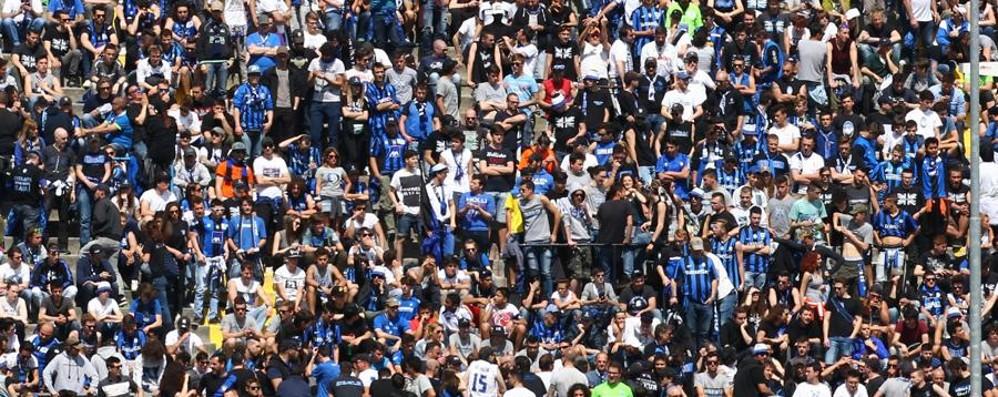 Atalanta, sciopero del tifo allo stadio  La «Nord»:15 minuti di silenzio per il Bocia