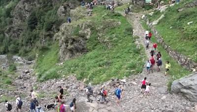 Sempre bellissime le cascate del Serio Prossima apertura il 16 settembre