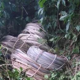Treviolo, trovati 800 chili di rame Caccia ai responsabili del furto