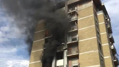 Incendio torri di Zingonia