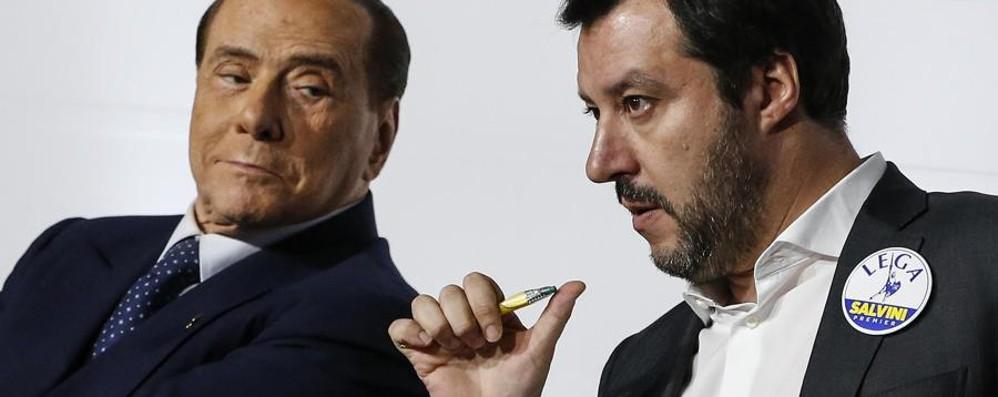 Rai, resa dei conti tra Silvio e Salvini